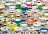 Outset Media Games Tea Cups Puzzle, 1000 pieces