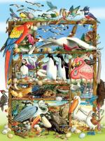 Outset Media Games Birds of the World Family 400 piece Puzzle