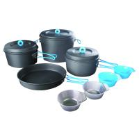 Stansport Family 8-piece Hard-anodized Aluminum Cook Set