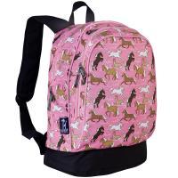 Olive Kids Horses in Pink Sidekick Backpack
