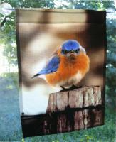 Songbird Essentials Flag Large, Mad Bluebird