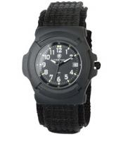 Smith & Wesson Black Military Watch Nylon Leather Band