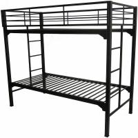 Blantex University Loft Twin over Full Bunk Bed Bed with Built In Ladder and Guardrails