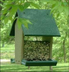 House / Hopper Bird Feeders by Rubicon