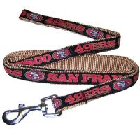 San Francisco 49ers NFL Dog Leash - Large