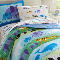 Olive Kids Endangered Animals Twin Comforter