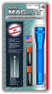MagLite - AA Mini Mag Blue Flashlight Holster Pack