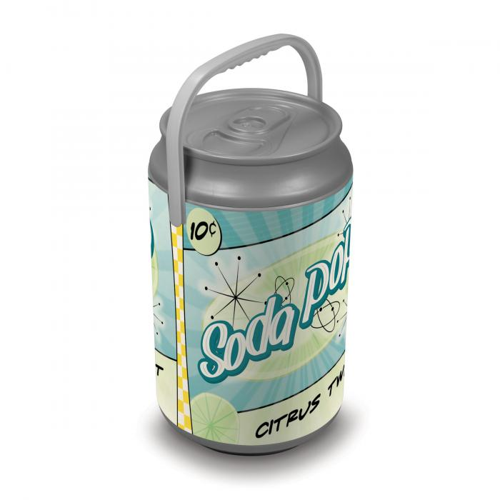 Picnic Time Extra Large Insulated Mega Can Cooler, Soda-Vintage Can