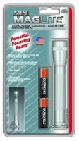 MagLite - AA Mini Mag Silver Flashlight Hanging Pack
