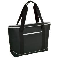Picnic at Ascot ECO Large Insulated Tote/Cooler Bag - Black/White