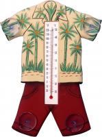Songbird Essentials Hawaiin Shirt Small Window Thermometer