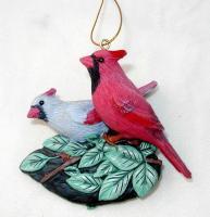 Songbird Essentials Cardinal Pair Ornament