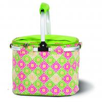 Picnic Plus Shelby Collapsible Market Cooler Tote - Green Gazebo