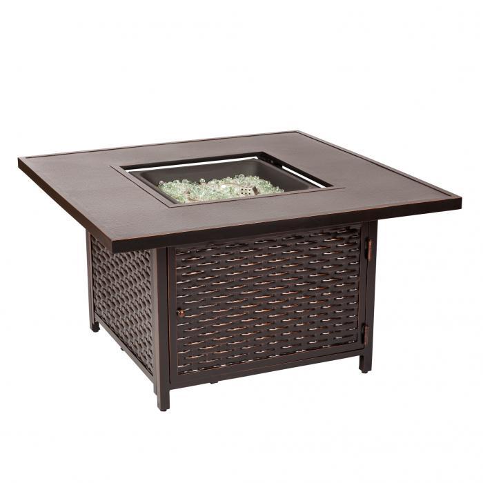 Baker Cast Aluminum LPG Fire Pit Table