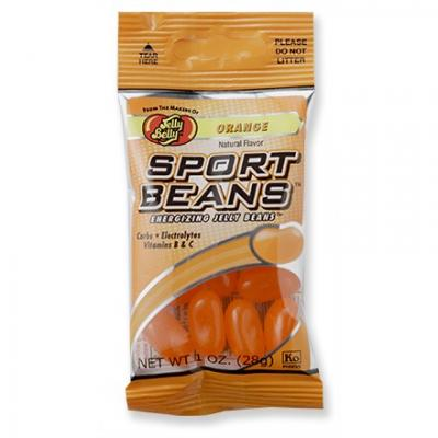 Jelly Belly Orange Sport Beans, 1 Ounce