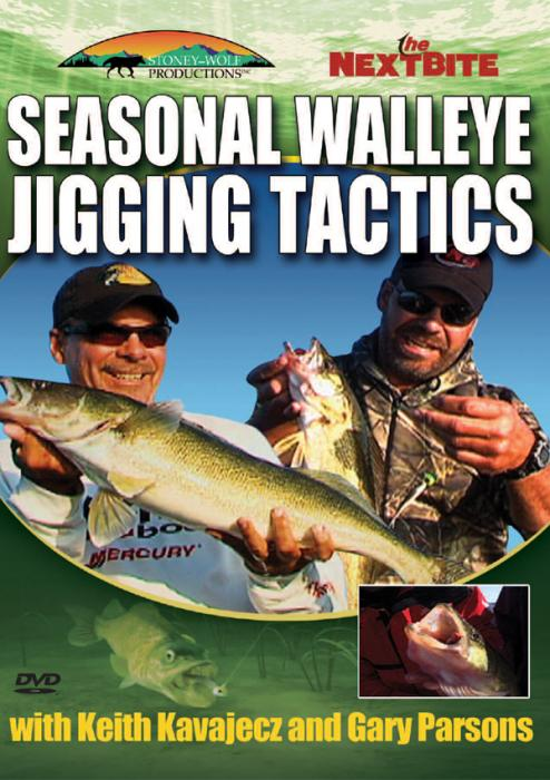 Stoney-Wolf Seasonal Walleye Jigging Tactics DVD
