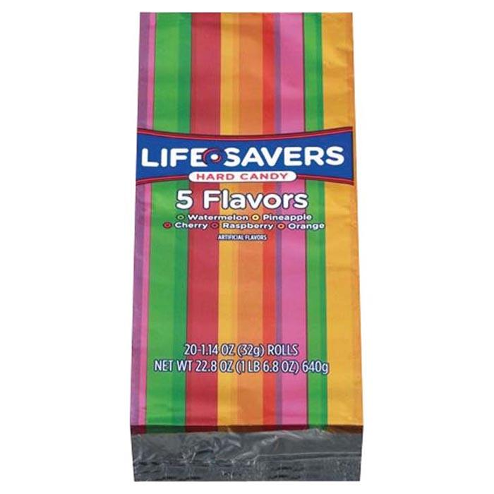 Lifesaver 5 Flavor 1.14oz Roll