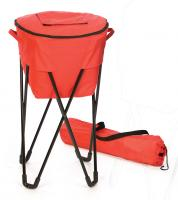 Picnic Plus Insulated Tub Cooler with Stand - Red