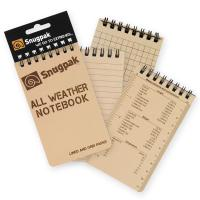 Snugpak - All Weather Notebooks - Sm - Tan