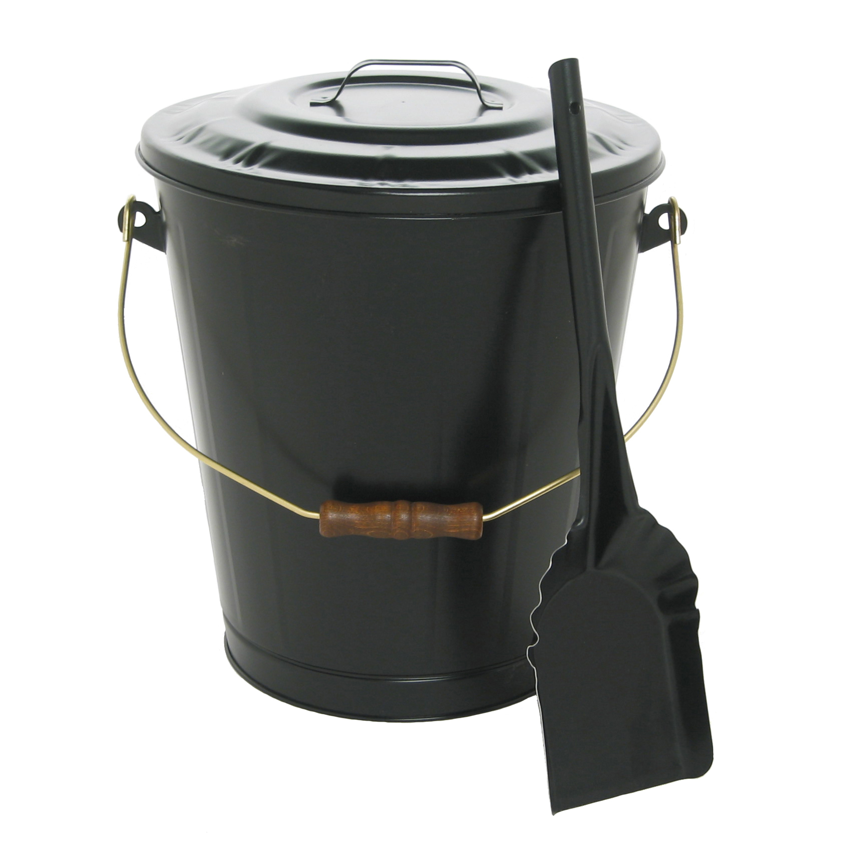 Imperial Manufacturing Ash Container Amp Shovel Set Black