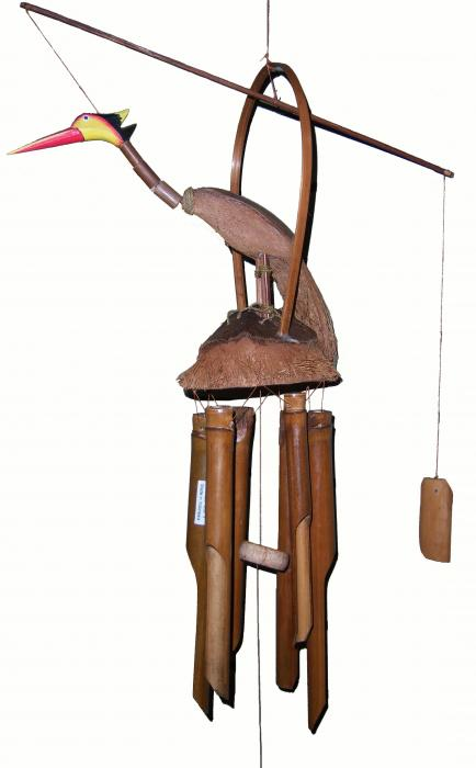Songbird Essentials Bamboo Chime Loony Bird