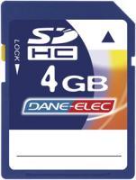 Dane-Elec DA-SD-4096-R Secure Digital Card (4 GB)