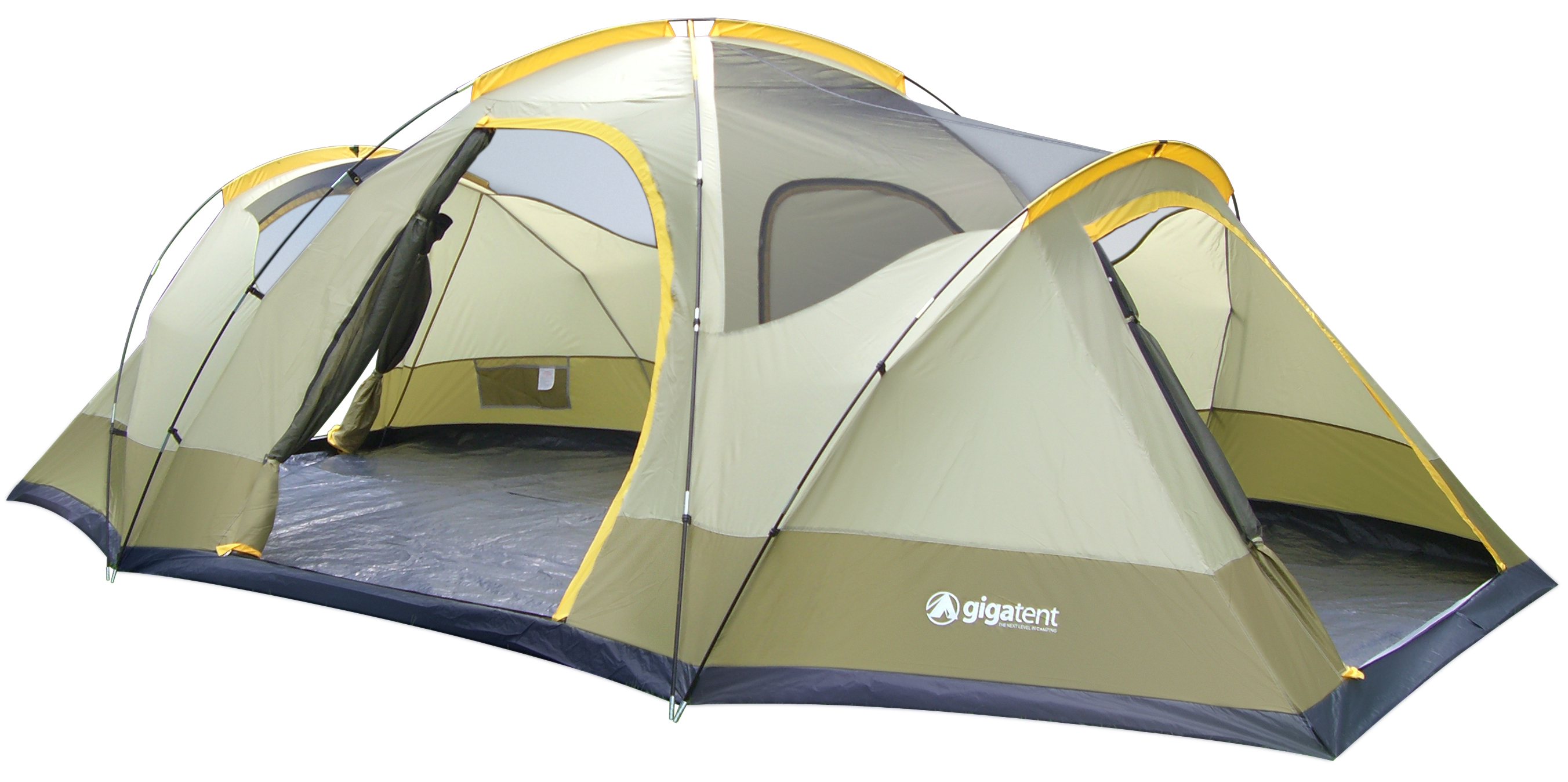 Gigatent Wolf Mountain 3 Room Family Dome Tent
