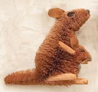 Brushart Kangaroo Ornament