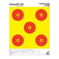 Champion Traps & Targets Shotkeeper 5Bulls Bright Y w/Red Lg 12Pk