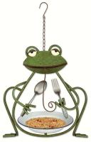 Sunset Vista Designs Frog Bird Feeder
