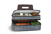 Picnic Plus  Entertainer Hot & Cold Food Carrier - Blue Oyster
