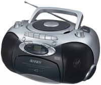 Jensen CD-555 CD Player/Cassette Recorder with AM/FM Radio