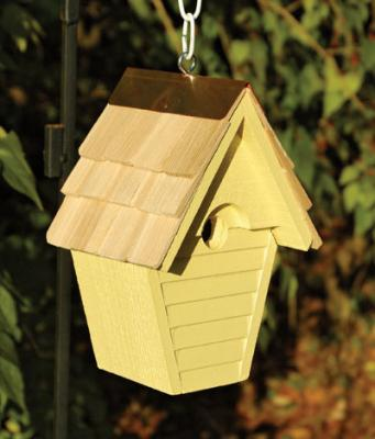 Heartwood Wren-In-The-Wind Birdhouse, Goldfinch