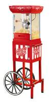 """Nostalgia Electrics CCP399 Vintage Collection 48"""" Old Fashioned Movie Time Popcorn Cart"""