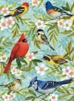 Toland Bird Collage Standand Size House Flag