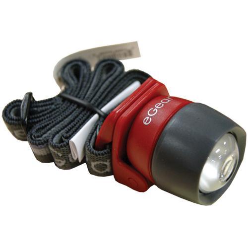 eGear EQ2 Ultralight Headlamp, Red