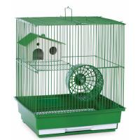 Two Story Hamster & Gerbil Cage - Green