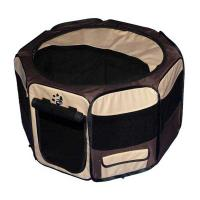 "Pet Gear Travel Lite Soft-Sided Pet Pen with Removable Top Sahara 36"" x 36"" x 23"""
