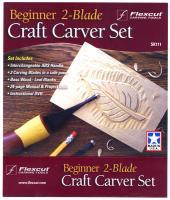 Flexcut Beginner 2-Blade Craft Carver Set