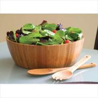 Lipper Bamboo 3Pc Salad Set