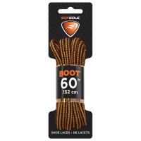 """Boot Waxed Lace Gold/brown 60"""""""