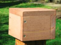 Songbird Essentials 4x4 Post Mount Cap