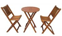 Merry Products Stained Bistro Set