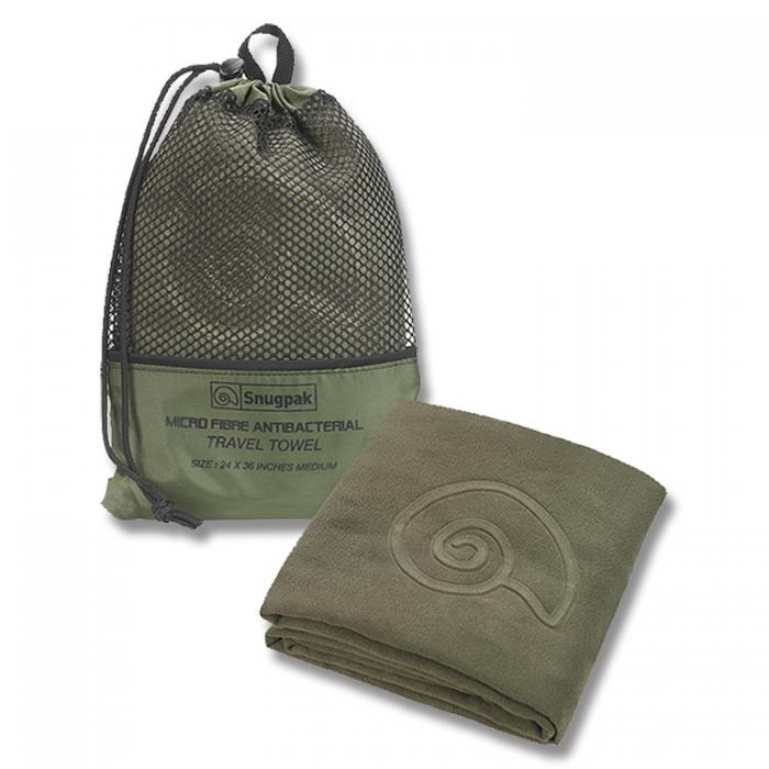 "Snugpak Travel Towel - Head to Toe Olive 47"" X 49"""