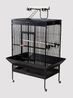 Parrt Wi Cage Blk36x24x66 2box