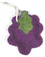 Loofah Art Grape Cluster