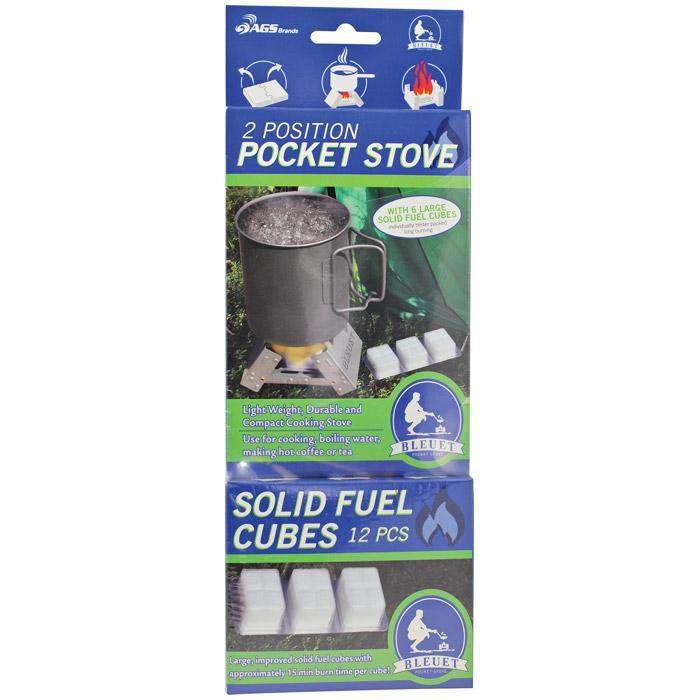 Bleuet 25 Gram Solid Fuel Cube