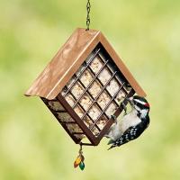 Artline Deluxe Metal Suet Cage Bird Feeder