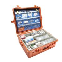 Pelican Products 1600EMS Case with EMS Accessory Set, Orange