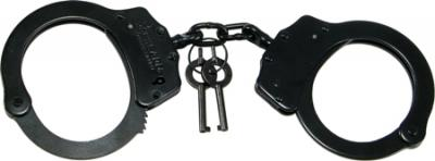 Schrade SCHCB Handcuff Double Lock Black
